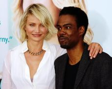 Film premier Cameron Diaz and Chris Rock