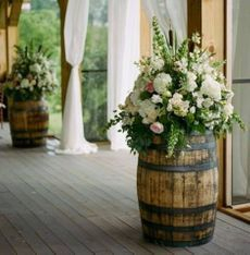 Wedding accessories York barrels