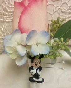 Mickey Mouse Boutonniere