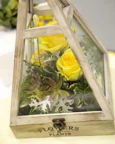 Event flowers, rustic centerpiece