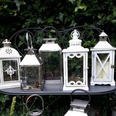 White lanterns accessories