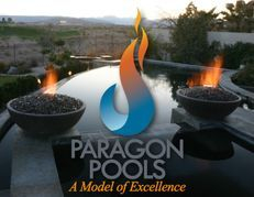 Award winning Las Vegas swimming pool and spa construction, Paragon Pools.
