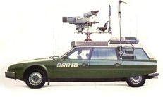 Matrix Scale models Citroen BBC TV Camera car