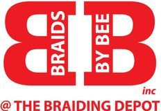 Braids by Bee official logo for trademark services.