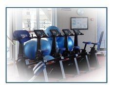 Gym, cardio workout, bikes