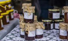 Preserves in the Exhibit Shed