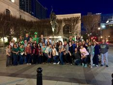 Nashville team building activity on the Music City Pub Crawl