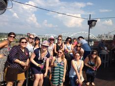 bachelors and bachelorettes join for one pub crawl in Nashville