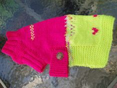 Neon Dream Dog Sweater