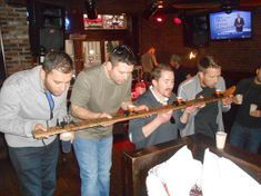 Nashville bachelor party on the Music City Pub Crawl
