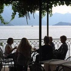 """<img src=""""australian womens travel.jpg alt=womens tours,travel group having drinks at lake como """">"""