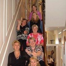 "<img src=""australian womens travel.jpg alt=womens tours,travel group on stairs in london "">"