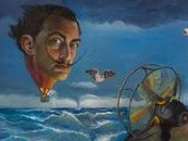 Dali Tribute Painting