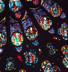 "src=""australian womens travel.jpg alt=womens travel,rose window detail notre dame , paris france """