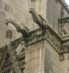 "src=""australian womens travel.jpg alt=womens travel,gargoyles , paris france """