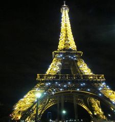 "src=""australian womens travel.jpg alt=womens travel,glittering eiffel tower , paris france """