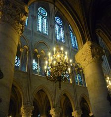 "src=""australian womens travel.jpg alt=womens travel,interior notre dame , paris france """