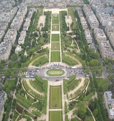 "src=""australian womens travel.jpg alt=womens travel,daytime view from the eiffel tower  , paris france """