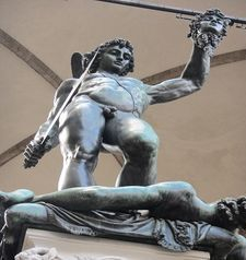 "womens tours.jpg alt=womens travel, looking p at bronze statue of perseus, florence"">"