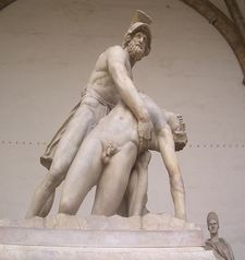 "womens tours.jpg alt=womens travel,statue fo menelaus supporting the body of  patroclus, loggia de lanza, florence"">"