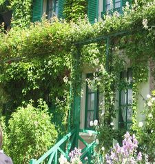 "ours.jpg alt=womens travel, verdant growth, monets garden, giverny, france"">"