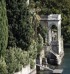 "ravel, pavillions on the lake villa monastero, varenna, lake como, italy"">"