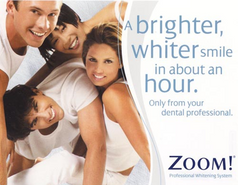 Zoom Teeth Whitening in an about 1 hour