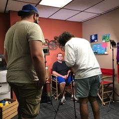Behind the scenes of film camp