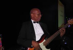Michael Hall Bass Guitarist/Band Leader with The Silkee Smoove Band