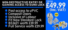 lock change packages Taylors Locksmiths www,taylorslocksmiths.co.uk