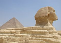 the pyramids & sphinx