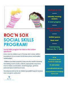 Roc'N Sox social skill program for kids with autism