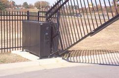 Sun-Power Vertical Lift Solar Powered Gate