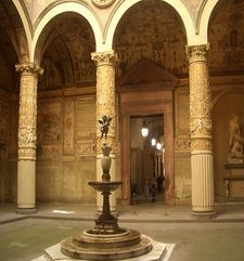 "womens tours.jpg alt=womens travel, ground floor of the palazzo vecchio, florence"">"