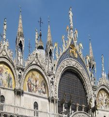 "womens tours.jpg alt=womens travel,detail of st marks basilica venice"">"