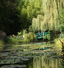 "ours.jpg alt=womens travel, monets water lily pond, monets garden, giverny, france"">"