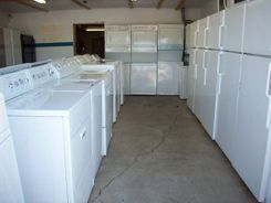 Appliance Showroom Washers Dryers Refrigerators