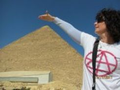 ChristinA Ritchie in Giza