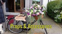 We have many wedding accesories for hire at Fleur Adamo