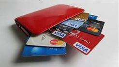 We accept most credit cards or cash