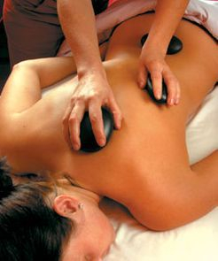 hot stone massage is deeply relaxing /AcupunctureHalifax.ca