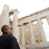 Obama's Visit to the Acropolis Sacred Hill privately