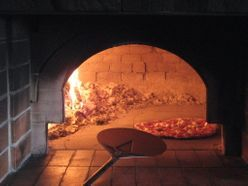 Pizza oven cooking with Outback Ironbark