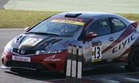 Dan Ludlow Honda Civic Britcar Presidents relay