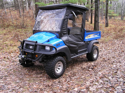 New Holland Rustler Windshield