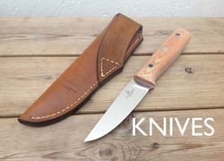 Bushcraft, hunting knives, parang, golok, machete