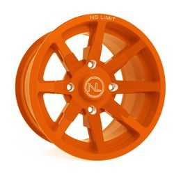 No Limits Wheels Orange Madness