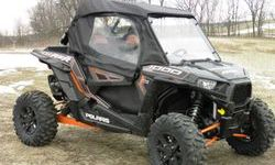 Polaris RZR Full Cab Enclosure