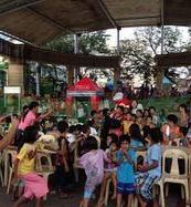 Feeding program in Novaliches