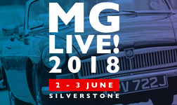 MG Live 2018 - A celebration of all things MG June 2-3 2018